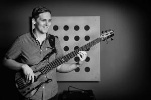 Ben Hearn using Roscoe bass guitars